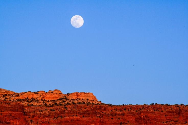 Moonrise Indian Creek